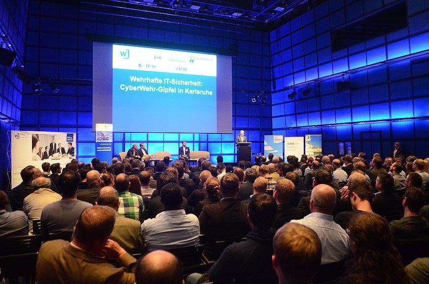 CyberWehr Gipfel. Bild: Wirtschaftsrat